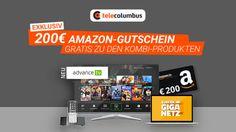 Aktuell! In acht Bundesländern verfügbar: Kabel-Internet-Deal mit 200 Euro Amazon-Gutschein - http://ift.tt/2pk1Vk4 #aktuell