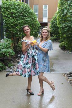 #daytimeparty #floralprint #pastel #ladieswholunch #summer