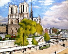 bofransson:  Paris, the Seine and Notre Dame Albert Marquet - 1922