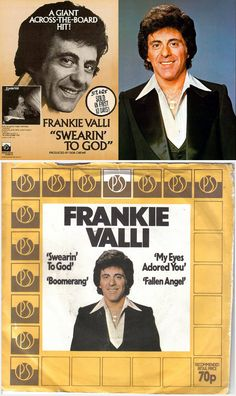 "Frankie Valli ""Swearin' to God"" — Hear the original ten-minute single in my board, ""My Music: Disco! Soul Music, My Music, Tommy Devito, Frankie Valli, Michael Bolton, Jersey Boys, Rhythm And Blues, My Favorite Music, Musica"
