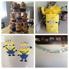 Despicable me minion birthday party.