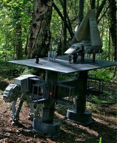 Amazing Star Wars diorama