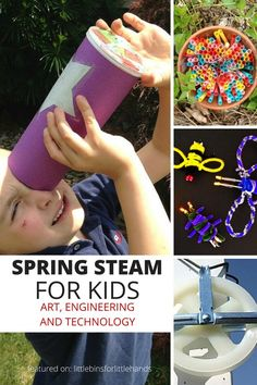 Spring STEM Activities Engineering Ideas for Kids