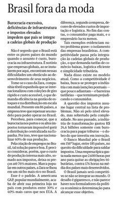 (Editorial, Folha de São Paulo, 27 de setembro de 2013) O velho problema. Até quando?