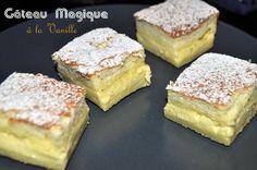 Découvrez la recette Gâteau magique à la vanille sur cuisineactuelle.fr.