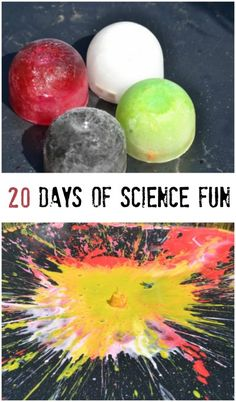 20 days of science experiments for kids