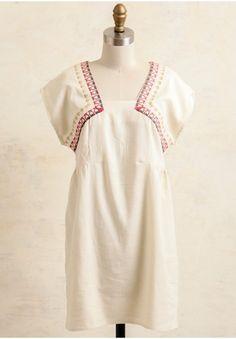 Summer Cottage Embroidered Dress | Modern Vintage Dresses | Modern Vintage Clothing | Ruche