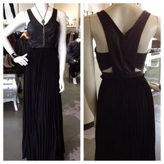 We love this black maxi dress... Only $130!