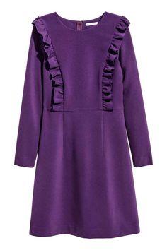 Frilled dress   H&M