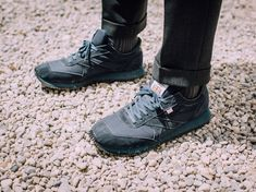 Made in Bolton, England, Walsh is a little-known sneaker brand that occupies a space between fashion and sports footwear. Sports Footwear, Sneaker Brands, Brand You, Bolton England, All Black Sneakers, How To Wear, English, Shoes, Space
