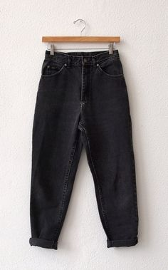 80's Lee black denim boyfriend jeans (SOLD)