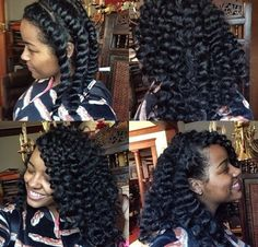 Awesome chunky twist out