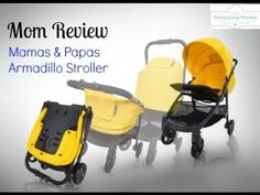 Mom review and video demo of the Armadillo Stroller from Mamas and Papas