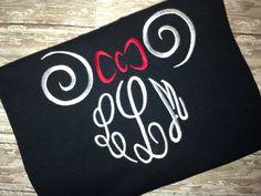 Monogram Minnie shirt