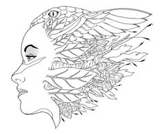 "mother nature coloring pages | 1000+ images about iColor ""The Magic"" on Pinterest 