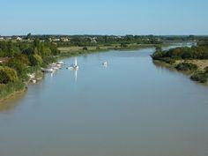 483 - La Charente et le pont de St-Clément - Tonnay Charente - Charente (fleuve) — Wikipédia