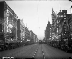 DENVER (CPVLIVE) : Curtis Street - Denver's Old Theater Row - SkyscraperPage Forum.  Most is gone, made into parking lots and offices.  Read discription below by writer/researcher http://forum.skyscraperpage.com/showthread.php?t=187061
