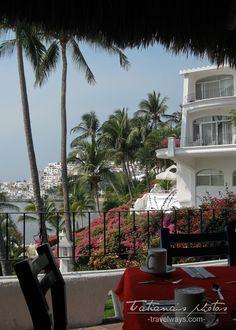 Dolphin Cove Inn, Manzanillo, Mexico - view from the restaurant