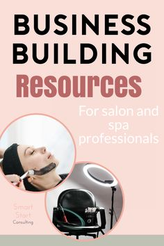✔Business building resources especially for the beauty and service industry. Spa Design, Salon Design, Salon Business, Business Ideas, Business Supplies, Business Cards, Salon Promotions, Becoming An Esthetician, Business Hairstyles