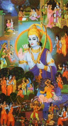 Lord Krishna Hd Wallpaper, Shree Krishna Wallpapers, Lord Vishnu Wallpapers, Hanuman Pics, Hanuman Images, Krishna Images, Krishna Painting, Madhubani Painting, Krishna Art