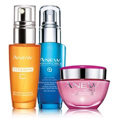 A $94 value, this trio includes:Anew Vitale Night Cream  Look like you had 8 hours of sleep, even when you didn't! Anew Vitale Night Gel Cream helps renew and energize dull, overtired skin. Hydrating gel cream, with VitaTone Complex, is formulated to help strengthen skin's foundation. Anew Vitale Night Gel Cream helps provide a youthful-looking appearance by off-setting the look of fatigue on skin. Over time, the appearance of fine lines, enlarged pores, skin dullness and fatigue virtually