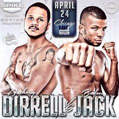 Andre Dirrell vs Badou Jack #boxing #sports #tmt