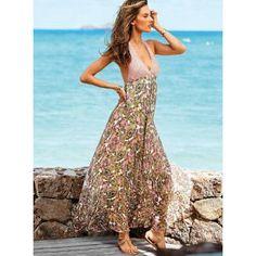 Victoria's Secret NEW! Paisley-print Maxi Dress