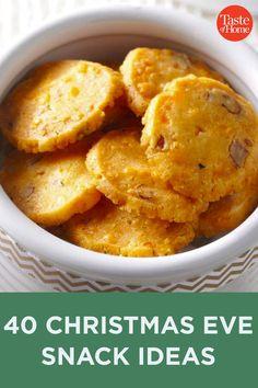 Holiday Snacks, Christmas Party Food, Christmas Appetizers, Christmas Cooking, Christmas Desserts, Holiday Recipes, Christmas Eve, Christmas Dishes, Retro Christmas