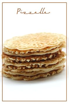 These crisp Italian waffle cookies are a tradition for many families at Christmas. This post is sponsored by Bob's Red Mill. Keto Cookies, Pizzelle Cookies, Low Carb Sweets, Low Carb Desserts, Gluten Free Pizzelle Recipe, Pizzelle Recipe With Oil, Cobbler, Coconut Flour, Biscuits