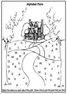 Free Alphabet Worksheets and Activity Ideas