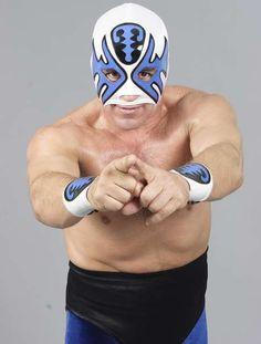 Mexican luchador Atlantis