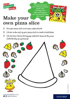 Make your own pizza slice!
