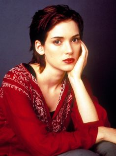 Winona ryder style and fashion highlights glamour uk. Winona Ryder Style, Winona Ryder Young, Tim Burton Beetlejuice, Winona Forever, Reality Bites, Glamour Uk, Film Inspiration, Casual Hairstyles, Actress Photos