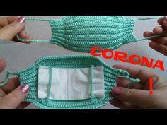 Knitting Corona Mask making & knitting mask model Crochet Mask, Crochet Faces, Knit Or Crochet, Crochet Crafts, Crochet Stitches, Free Crochet, Knitting Projects, Crochet Projects, Knitting Patterns