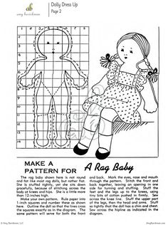Make a vintage-style doll for your favorite little one this holiday season with Dolls: 7 Projects for Rag Dolls and Clothes eBook. $6.99   This digital eBook contains 7 different vintage doll projects. Instructions include making dolls from stockings and socks, as well as fabric and scraps. Also included are two doll dress designs that can be made to fit any size doll. These projects are great for the little ones in your life! #doll #sewing #pattern #holiday #gift