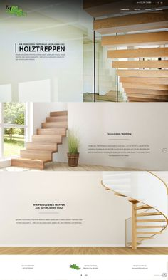Treppen FM HolzTreppen aus Polen #treppen #holz #holztreppen Web Design, Wood Stairs, Design Web, Website Designs, Site Design
