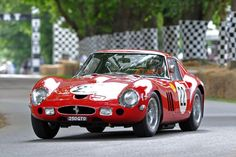Ferrari 250 GTO of Nick Mason, driven by Marino Franchitti @ Goodwood Festival of Speed 2012