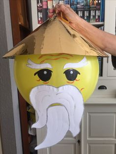 Sensei Wu Ninjago made out of punch balloon