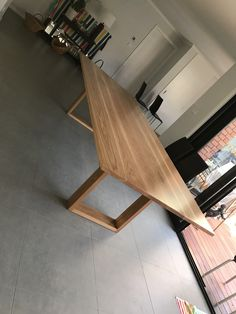 Solid timber American Oak dining table