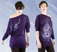 """Origin"" Bamboo Glider Dress by Inkspoon"