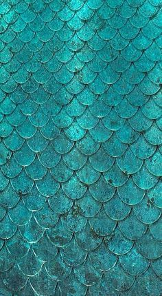 Mermaid scale wallpaper