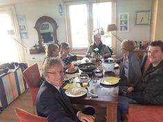 Fransje Volmer en familie. 2 april 2015