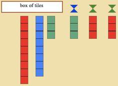 Montessori - Mathematics - Decimal System - Stamp game TEACHING INSTRUCTIONS