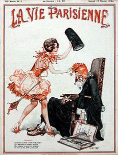 Chéri Hérouard (1881-1961). La Vie Parisienne, 19 Janvier 1924. [Pinned 19-iii-2015]