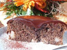 Schoko-Mohn-Kuchen mit Birne: runde Form, 20 cm Meatloaf, Food Inspiration, Beef, Desserts, Poppy, Small Cake, Pear, Meat, Tailgate Desserts