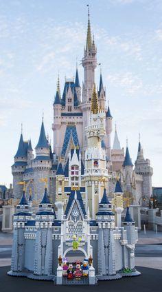 #LEGO The Disney Castle                                                                                                                                                                                 More