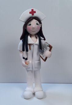 Nurse Professional Figurine  Custom Order by JudithLynnOriginals, $45.00