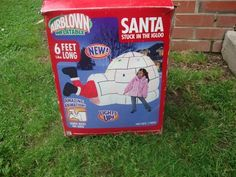 Animated Santa airblown inflatable