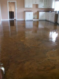 Stained Concrete Is So Cool Sealer Slab Decorative Acid