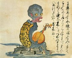 Kaikidan Ekotoba monster scroll: Mysterious mid-19th century scroll featuring 33 legendary monsters and human oddities